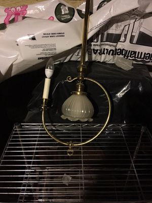 Antique Brass hanging ceiling light for Sale in Winchester, MA