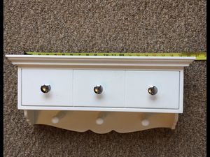 Clothes hanger/ shelf/ small drawer for Sale in Algonquin, IL