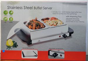 Electra Stainless Steel Buffet Server for Sale in St. Louis, MO