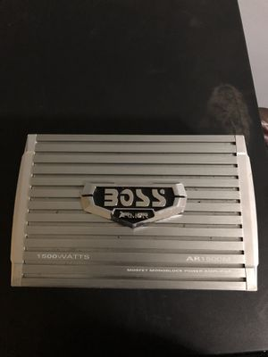Boss Amp 1500 Watts for Sale in Takoma Park, MD