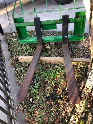John deere tractor forklift forks for Sale in Houston, TX