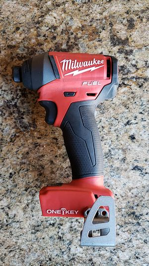 Milwaukee m18 fuel one key impact used in good condition $70 FIRM NO OFFERS for Sale in Fresno, CA
