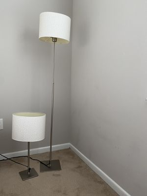 Matching white lamp set for Sale in Boca Raton, FL