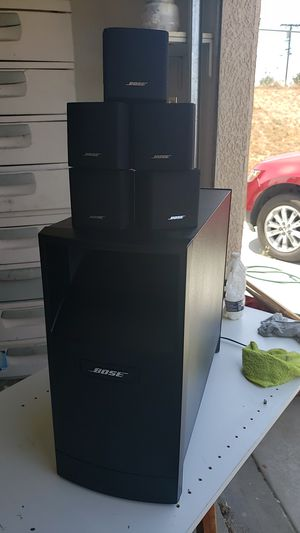 Bose home theater with onkyo receiver for Sale in Hesperia, CA