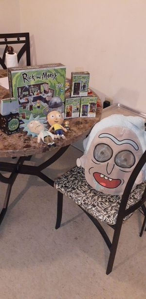 Rick and Morty collection. for Sale in Blackstone, MA