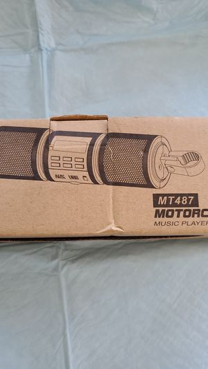 Motorcycle Music Player for Sale in Paramount, CA