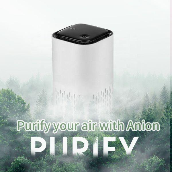 Mini portable air purifier capture airborne