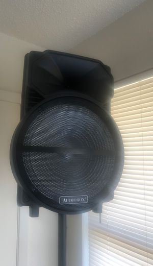 Audiobox 15 inch Bluetooth speaker for Sale in Wichita Falls, TX