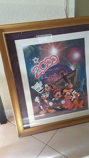 Disney 2000 Pic & Frame for Sale in Orlando, FL