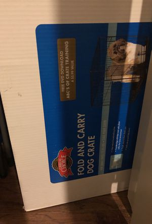 25lb Max Dog Crate for Sale in Denver, CO