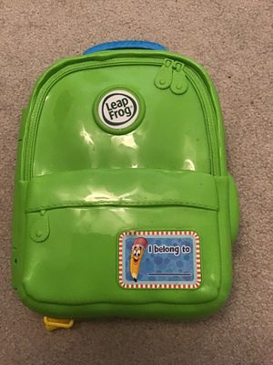 Leap Frog ABC Learn With Me Backpack Alphabet Learning for Sale in Herndon, VA