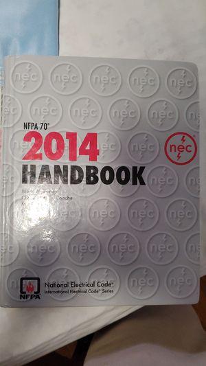 2014 national electrical code handbook for Sale in Lynwood, CA