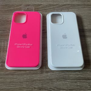 2 iPhone 12 Pro Max Silicone Cases for Sale in Orange, CA