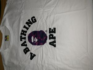 Bape Purple camo shirt Large for Sale in Havertown, PA