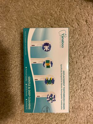 16x Oral-B replacement brush heads for Sale in Cary, NC