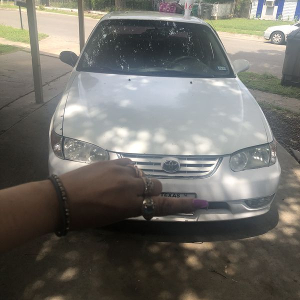 01 Toyota Corolla For Sale In San Antonio, TX