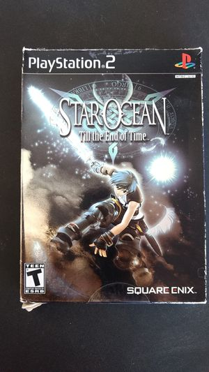 Star ocean ps2 game for Sale in Peoria, AZ