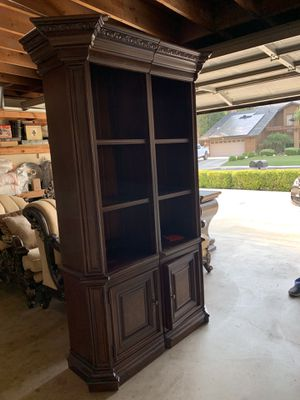 Beautiful solid wood 2 x bookshelves for Sale in Bakersfield, CA