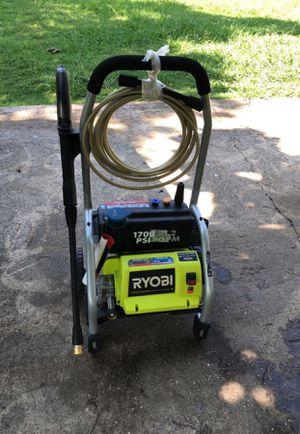 Ryobi 1700 psi pressure washer (electric) for Sale in Dallas, TX