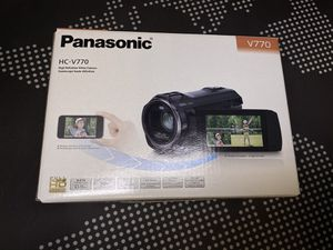 Panasonic HC-V770 1080P (120FPS) Camcorder for Sale in Fort Worth, TX