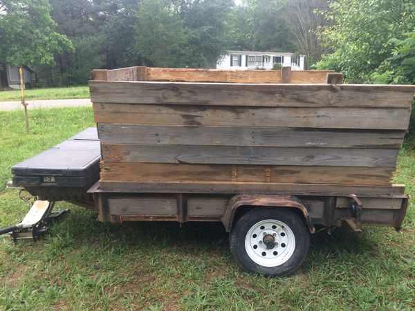 6x8 Trailer with tool box