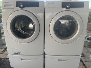 Samsung washer and electric dryer for Sale in Phoenix, AZ