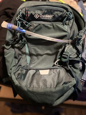 Outdoor products backpack with camelback for Sale in Nashville, TN