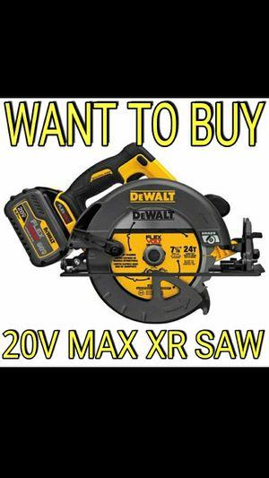 """DeWalt 20V Max XR 7-1/4"""" Ciruclar Saw for Sale in Portland, OR"""