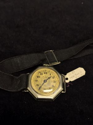 Vintage 14k Gold Filled Elgin 100 Watch #A34 Need service & Clean for Sale in Upland, CA