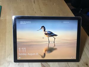 Latest 2017 Microsoft Surface with Keyboard. Warranty Jan 2019 for Sale in Fort Lauderdale, FL