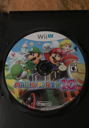 Mario party 10 Wii U for Sale in Chicago, IL