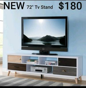 Mid-century Multi-color 3-shelf Tv Stand for Sale in Los Angeles, CA