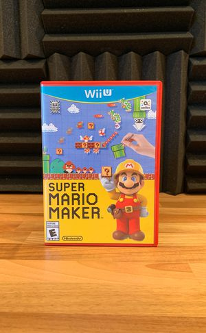 Super Mario Maker (WiiU) for Sale in Los Angeles, CA