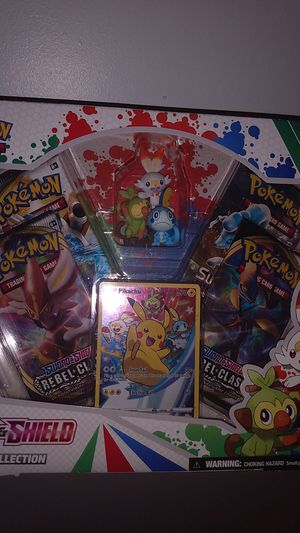 Sword and shield figure collectible Pokemon TCG for Sale in Fontana, CA