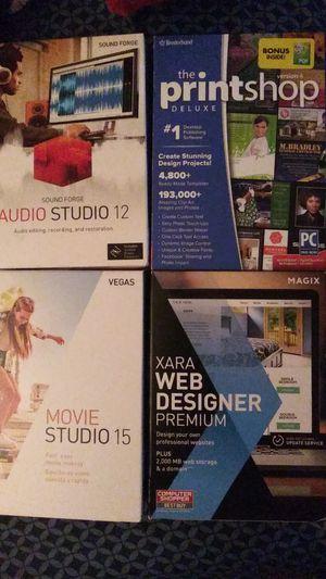 Movie Studio-Audio Studio-Printshop-Web Designer for Sale in Overland, MO
