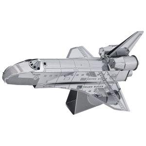5 Pack: Model Technics Metal 3D Puzzle (Space Shuttle, Empire State Building, F-22 Raptor Fighter Plane, Golden Gate Bridge, Leaning Tower of Pisa) for Sale for sale  Woodbridge Township, NJ