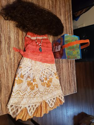 Girls Moana Costume for Sale in Houston, TX
