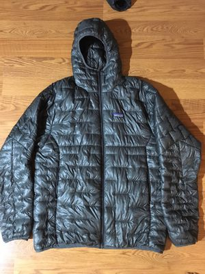 Men's Patagonia micro puff hoody Size large for Sale in Denver, CO