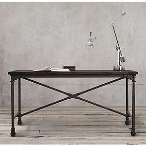 Restoration Hardware Flatiron Table / Desk for Sale for sale  New York, NY