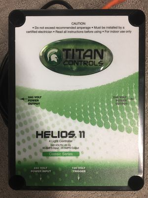 Titan Helios 11 240v (4) light fixture control $125Firm for Sale in Las Vegas, NV