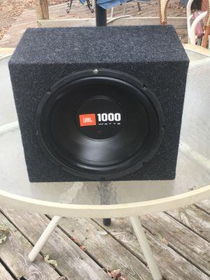 JBL 1000 Watts Speaker for Sale in Richmond, VA