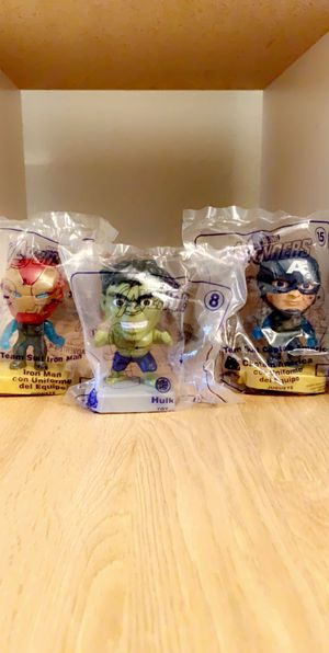 McDonald's Avengers for Sale in West Palm Beach, FL
