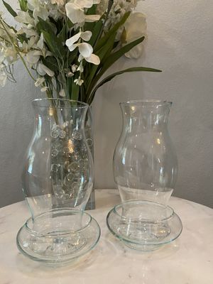 """Reflection 9 1/2"""" Hurricanes Candle Holders for Sale in Valencia, CA"""