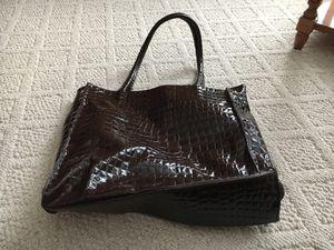Brown faux bag for Sale in Morton, IL