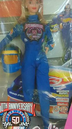 """Collection Edition """"Barbie"""" 50th Anniversary Of Nascar 1948 - 1998 for Sale in Providence,  RI"""