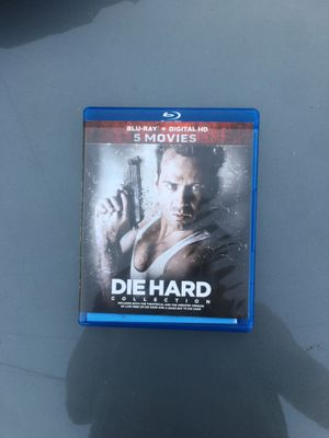 Die Hard Collection (5 Movies) (Blu-ray) for Sale in Redondo Beach, CA