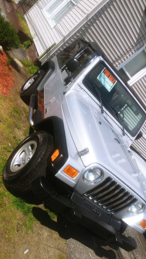 Jeep Wrangler (automatic) for Sale in Waterbury, CT