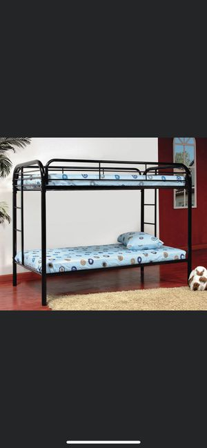 Brand new Twin twin bunk bed for Sale in Milwaukee, WI