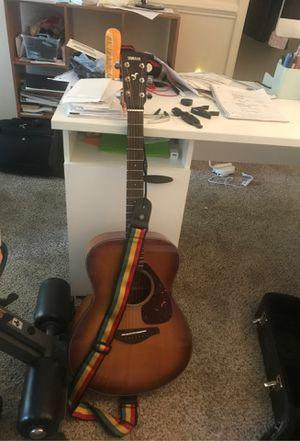 Acoustic Guitar Kit (Hard shell case, 2 Capos, pickholder, string changer) for Sale in Adelphi, MD