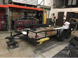 2016 utility trailer 7x14 for Sale in Chicago, IL